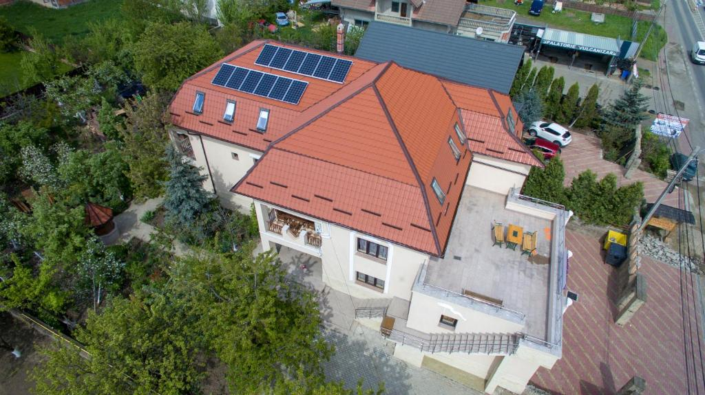 A bird's-eye view of Leaganul Bucovinei Guest House