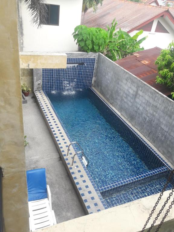 The swimming pool at or close to B Happy Resort