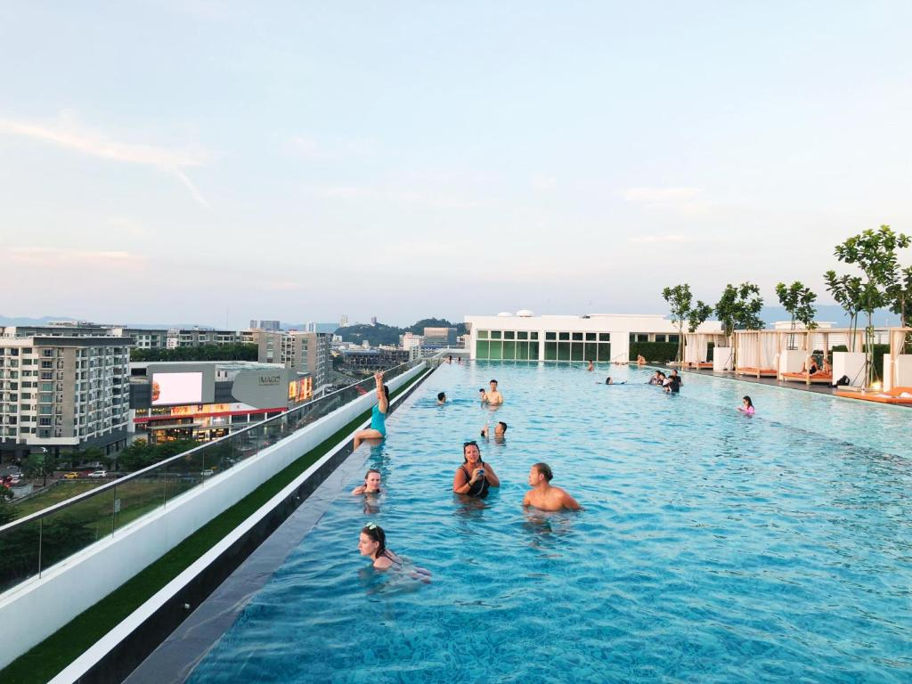The swimming pool at or close to Utopian Homes at Sutera Avenue