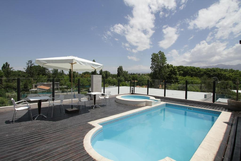 The swimming pool at or near Plaza Paradiso Petit Hotel