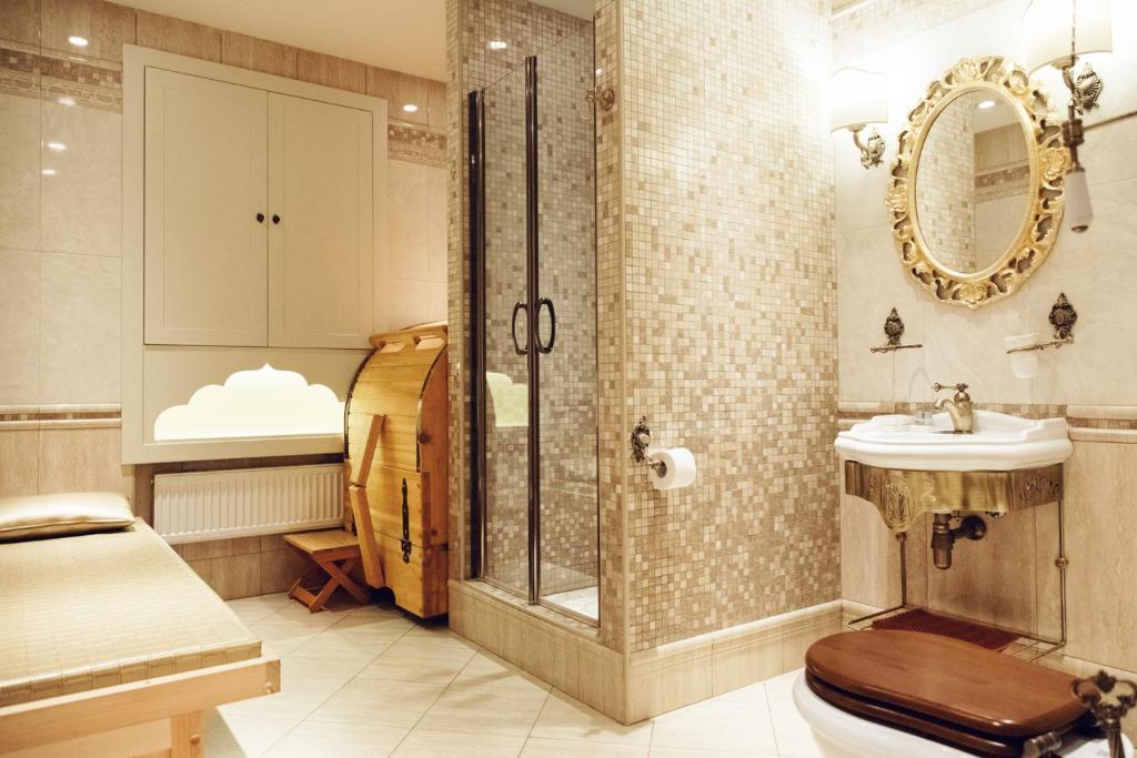 Ванная комната в Бутик Отель Меншиков
