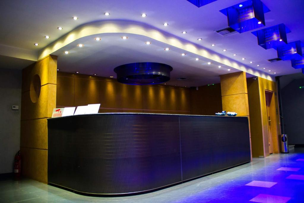 The lobby or reception area at Olympic Hotel