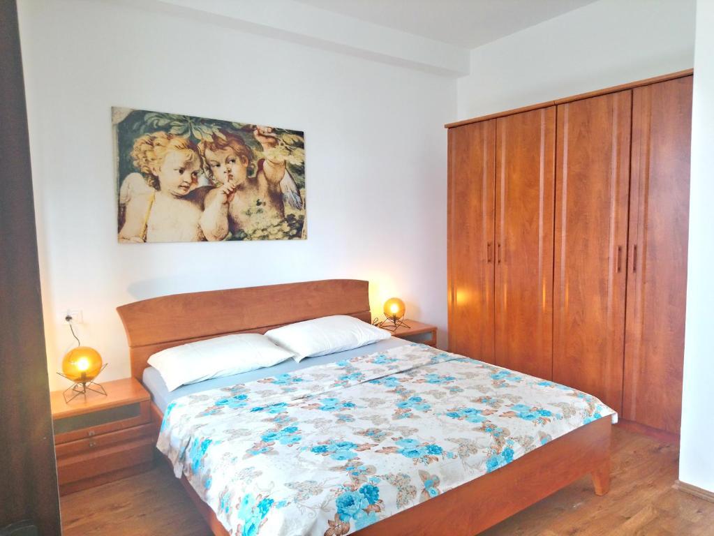 Кровать или кровати в номере Central Apartment Miraflores
