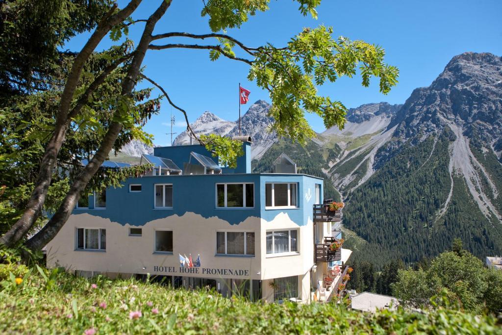 Hotel Hohe Promenade Arosa, Switzerland