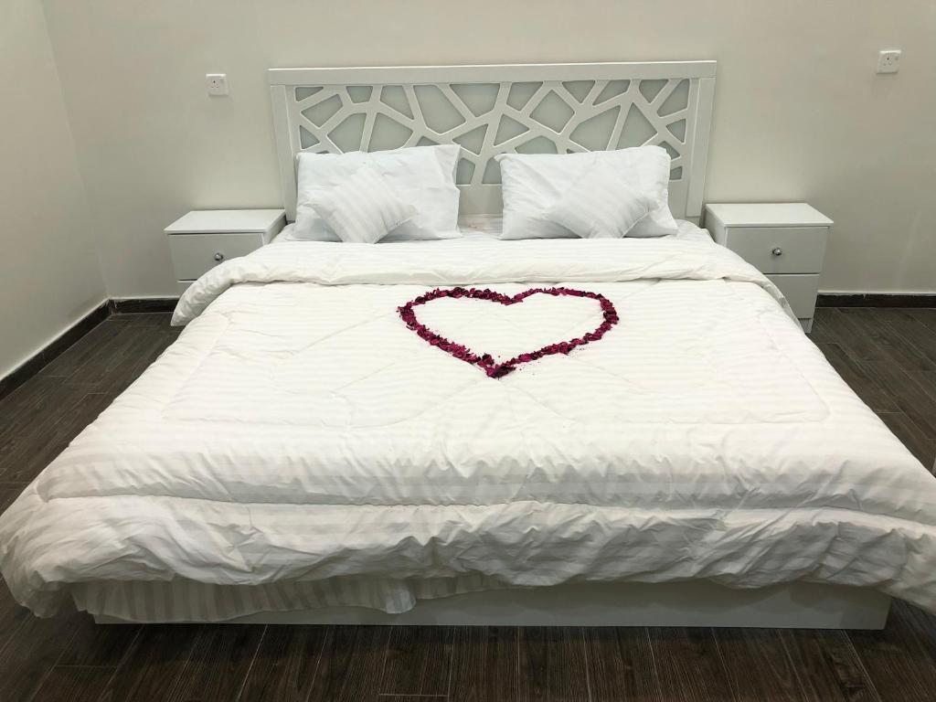 Cama ou camas em um quarto em Almasa Chalet