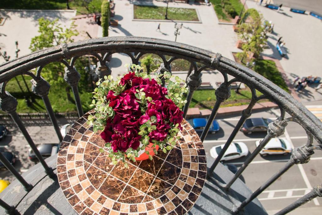 Балкон или терраса в Apartment on Tverskaya