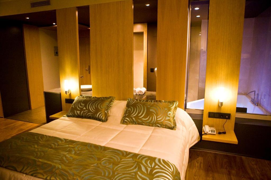 Cama o camas de una habitación en El Faixero Evolucion