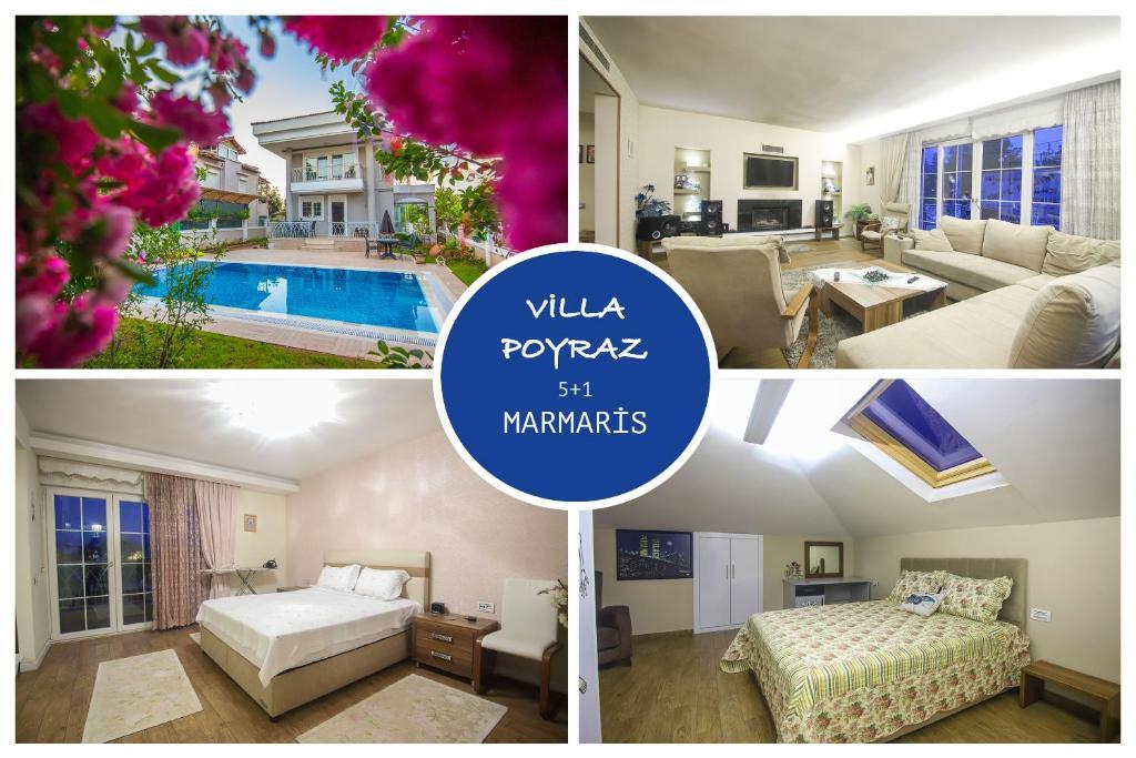Villa Poyraz Marmaris Daily Weekly Rentals