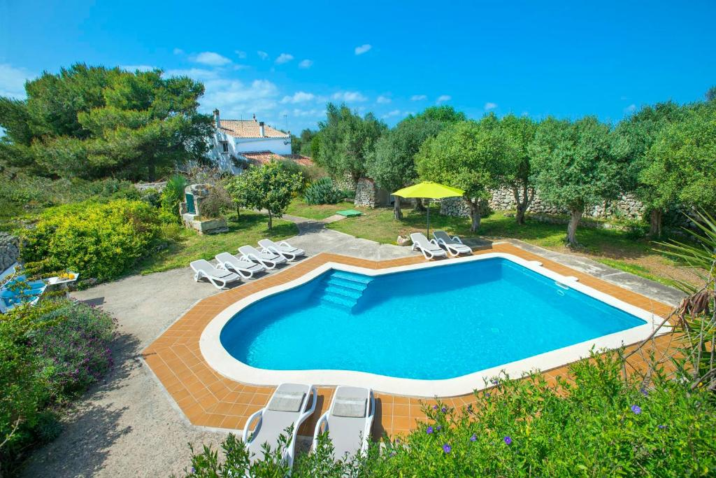 A view of the pool at Sant Climent Villa Sleeps 8 Pool Air Con WiFi or nearby