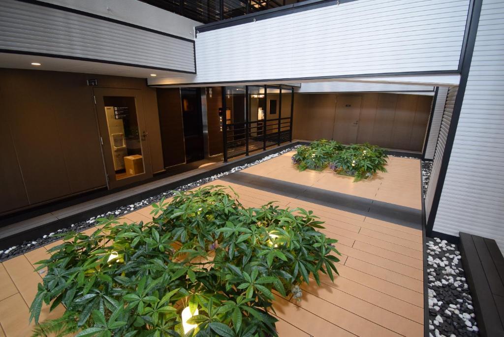 The swimming pool at or close to APA Hotel Osaka Umeda
