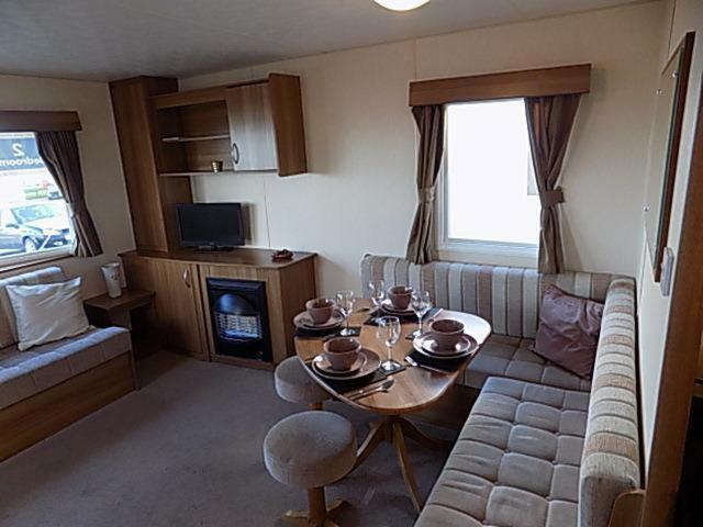 Dining area in the holiday park