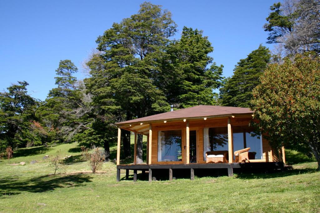 Jardín al aire libre en Lodge El Mirador De Guadal