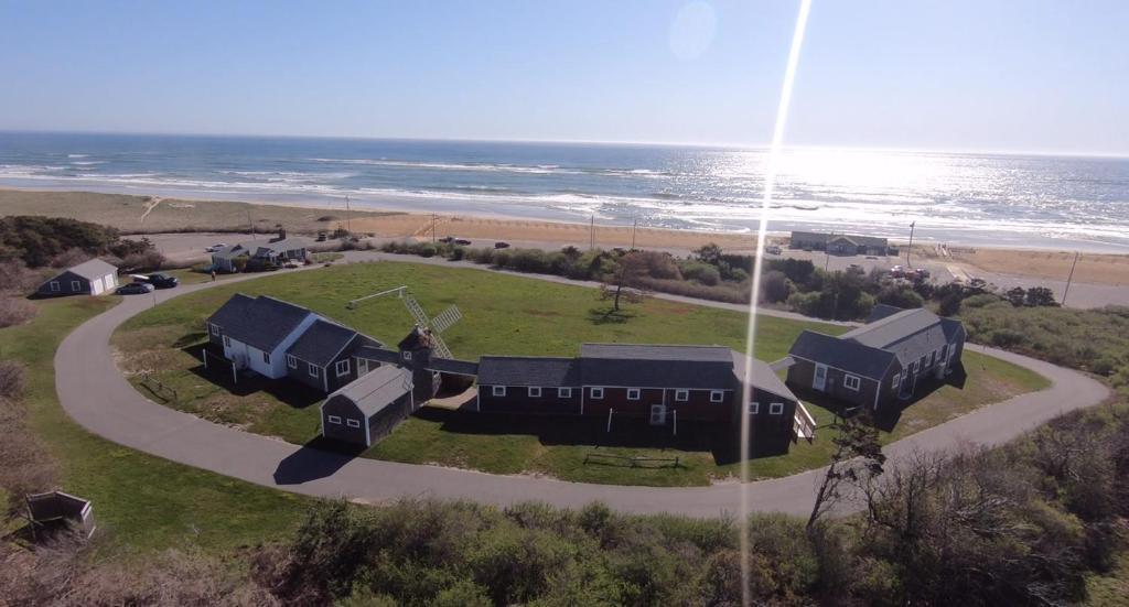 A bird's-eye view of Nauset Beach Inn