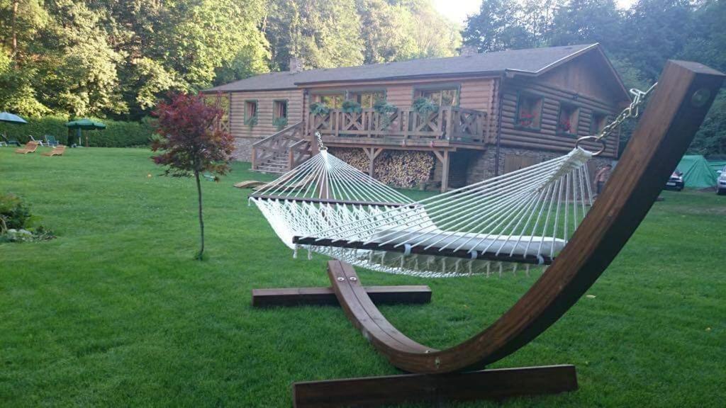 Vonkajšia záhrada v ubytovaní Luxury cottage in national park
