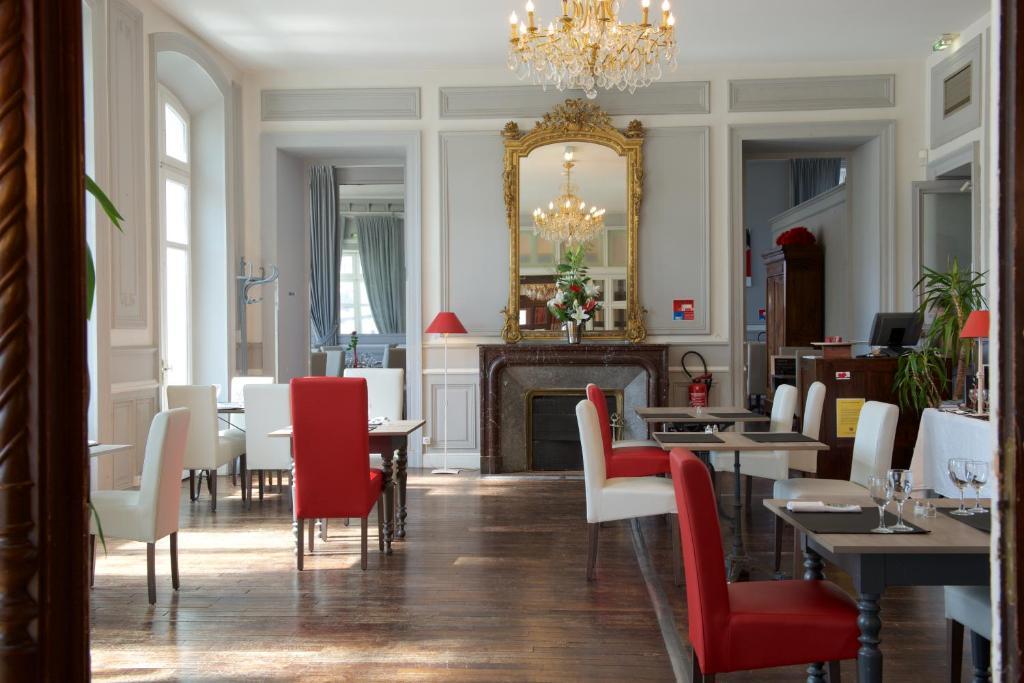 Restaurant ou autre lieu de restauration dans l'établissement Hôtel du Parc
