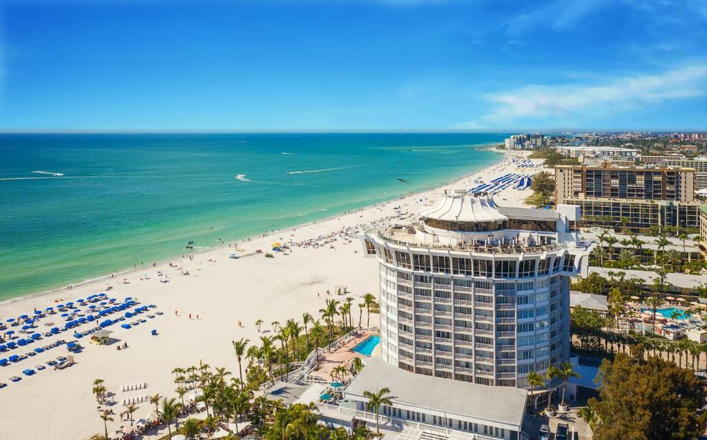 A bird's-eye view of Grand Plaza Beachfront Resort Hotel & Conference Center