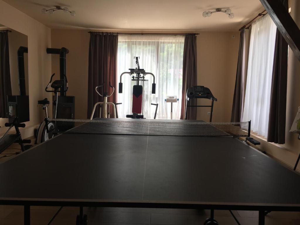 Centrul de fitness și/sau facilități de fitness de la Pension Jojo