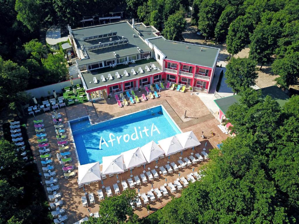 Гледка от птичи поглед на Hotel Afrodita Dimitrovgrad BG