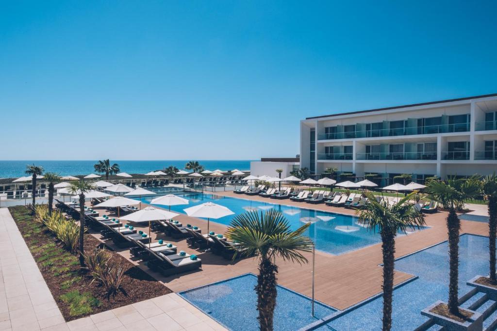 The swimming pool at or near Iberostar Selection Lagos Algarve
