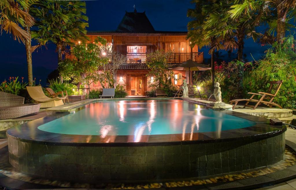 المسبح في Ti Amo Bali أو بالجوار