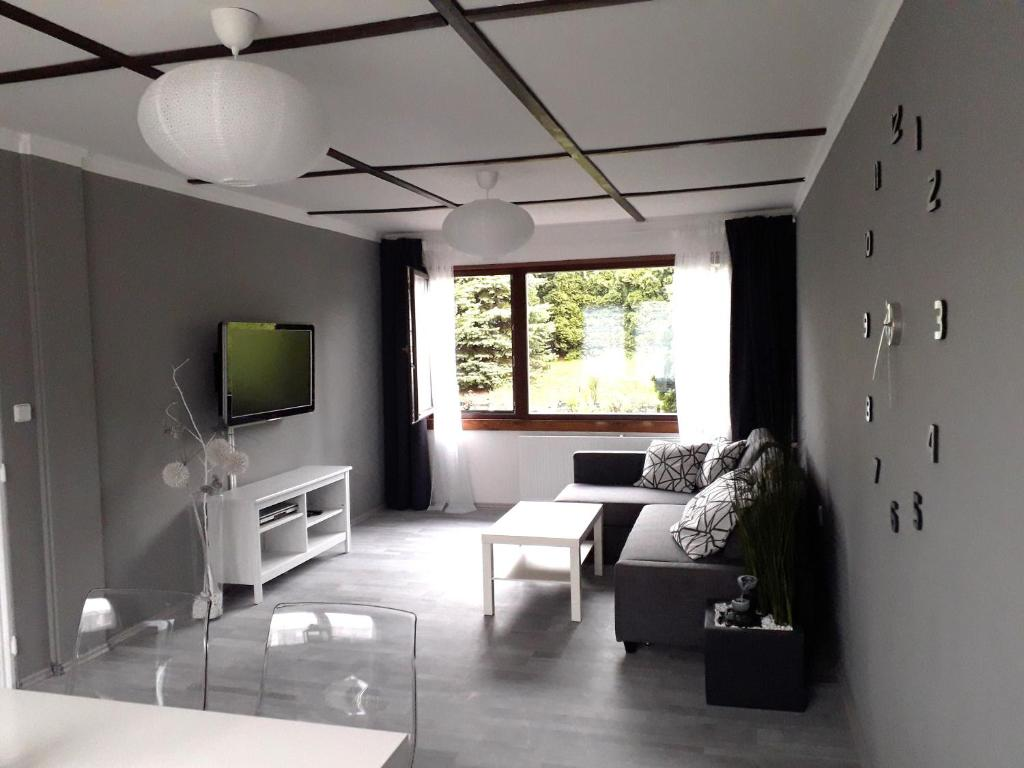 A seating area at Luxury Living Apartment