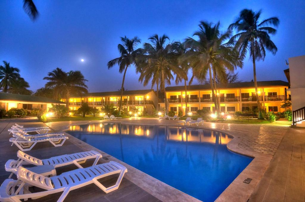 The swimming pool at or near Sunset Beach Hotel