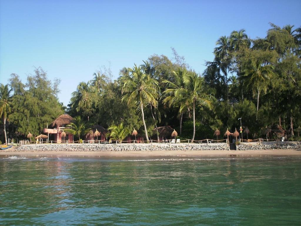 A beach at or near the guest house