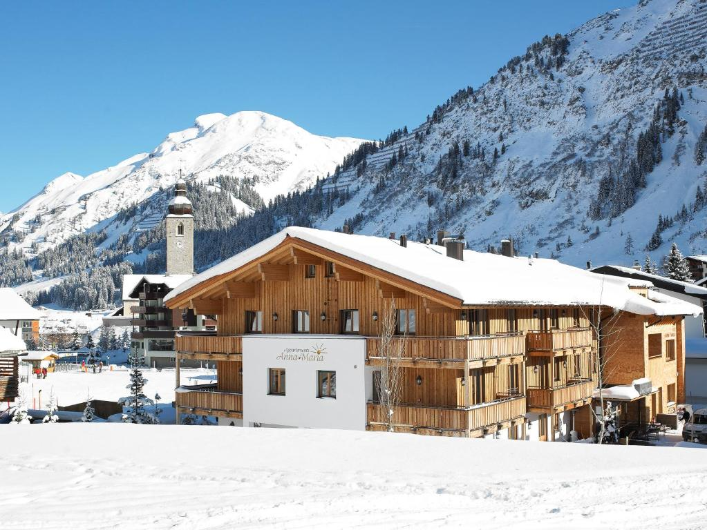Chalet Anna Maria during the winter