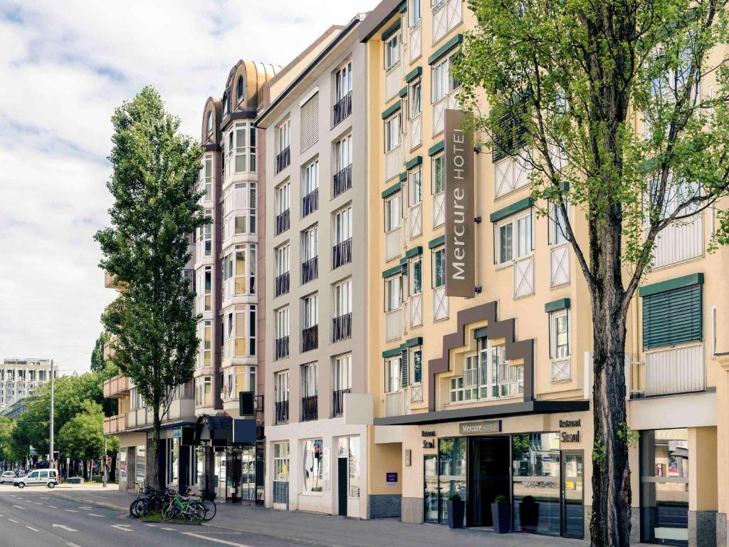 Mercure Hotel Muenchen Schwabing - Laterooms