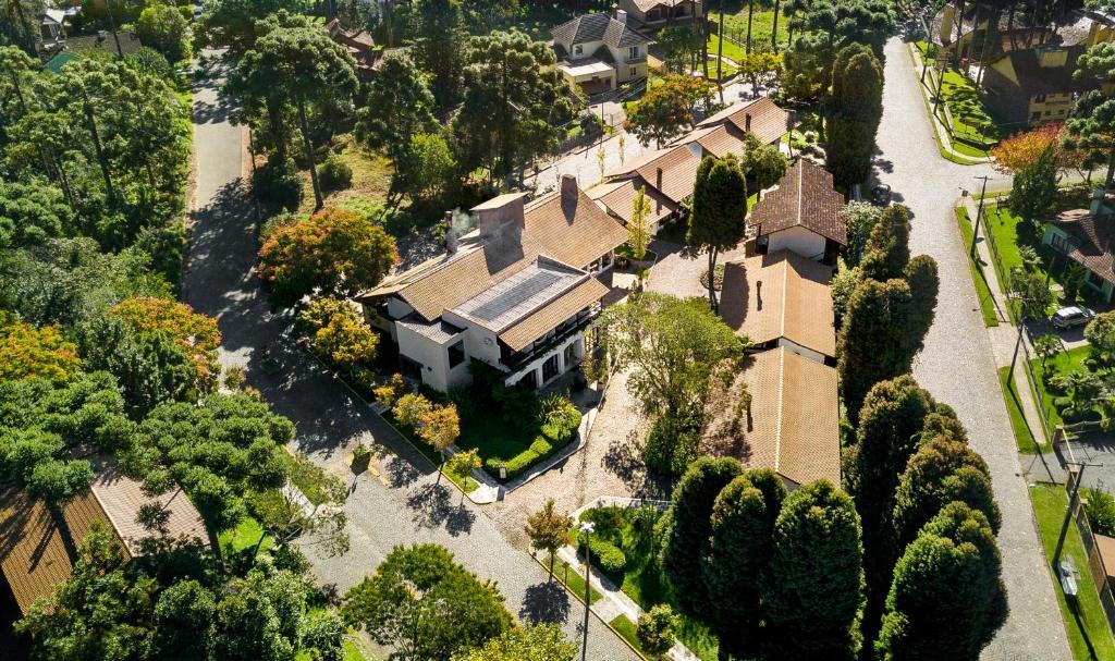 A bird's-eye view of Vila Suzana Parque Hotel