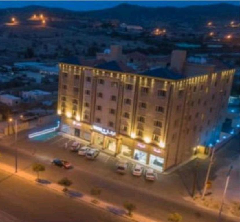 Uma vista aérea de Tabalah ApartHotel