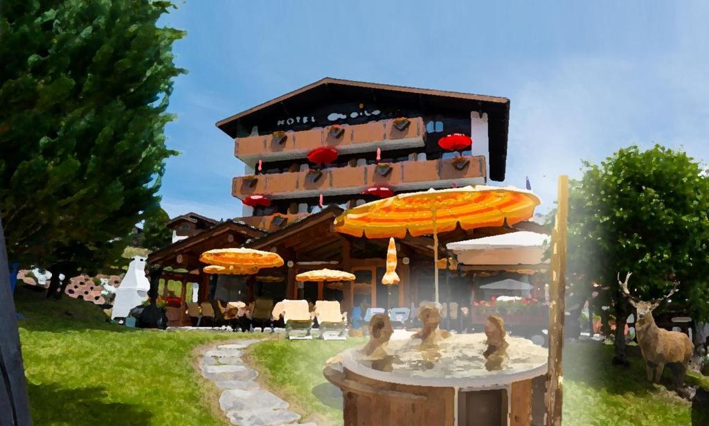 Hotel Alpenlodge Etoile Saas-Fee, Switzerland