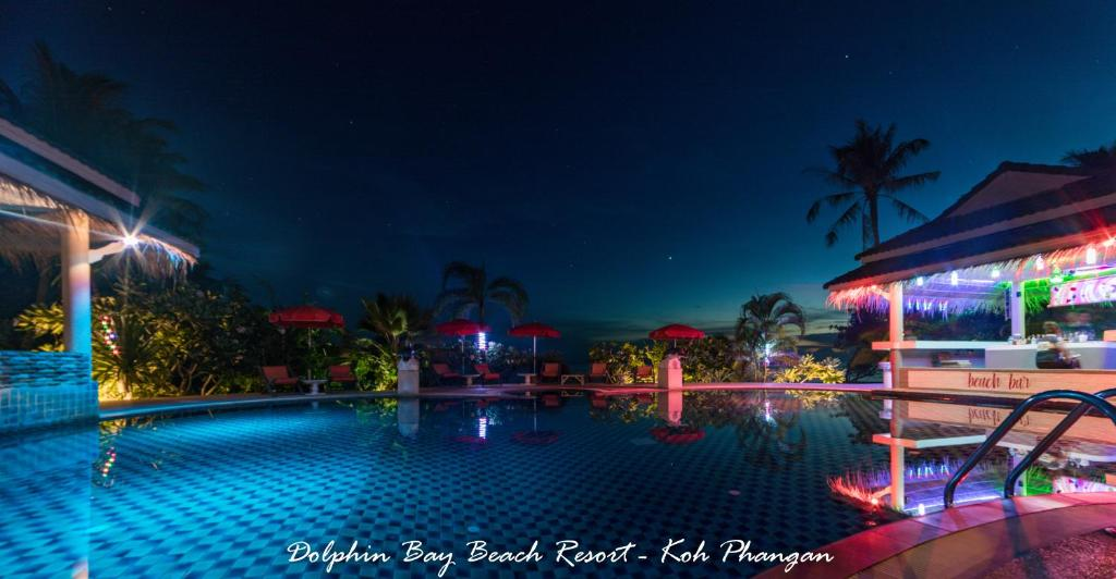 The swimming pool at or near Dolphin Bay Beach Resort