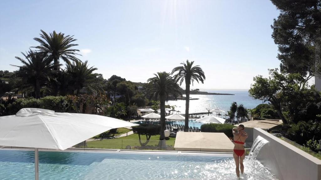 Poolen vid eller i närheten av Hotel Son Caliu Spa Oasis