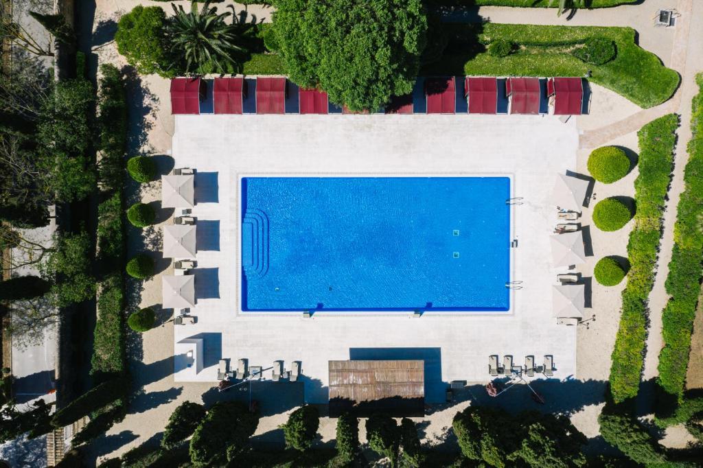 Widok na basen w obiekcie Son Julia Country House Hotel lub jego pobliżu
