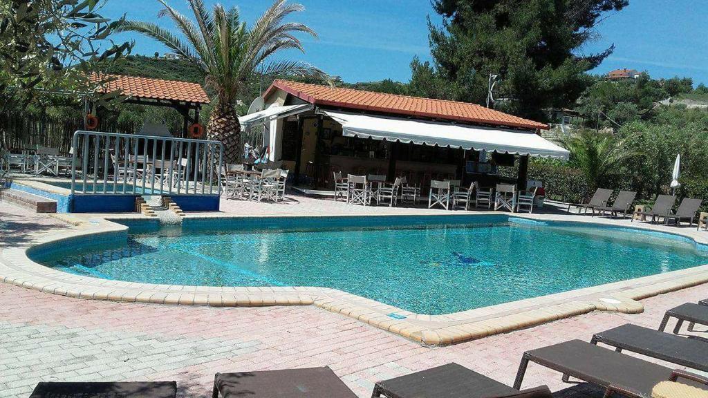 Πισίνα στο ή κοντά στο Bella Grecia