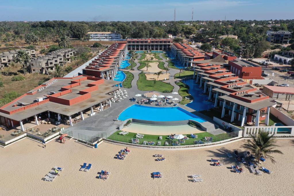 A bird's-eye view of African Princess Beach Hotel