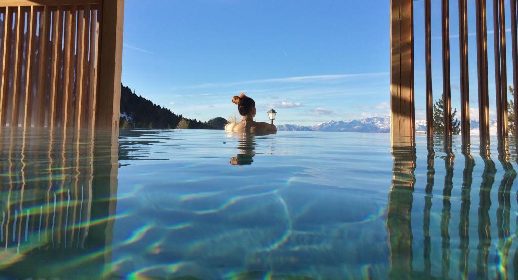 Piscina di Berghotel Jochgrimm - Alpine Wellness o nelle vicinanze