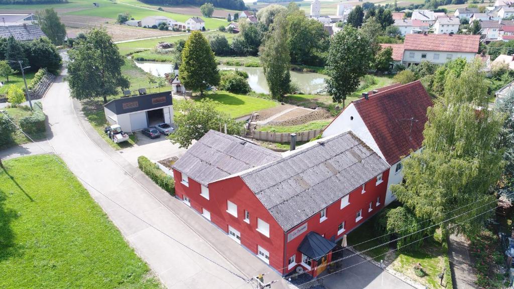 A bird's-eye view of zur Dorfmühle