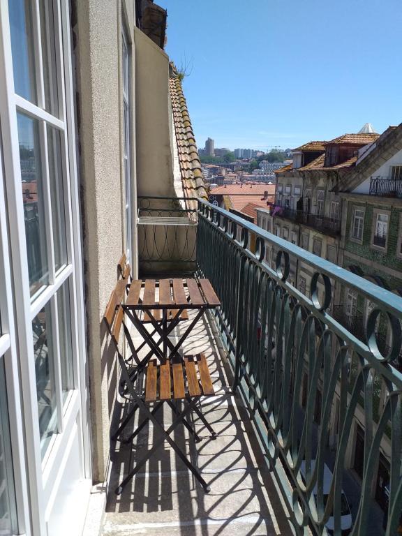 A balcony or terrace at H2O Porto Ribeira