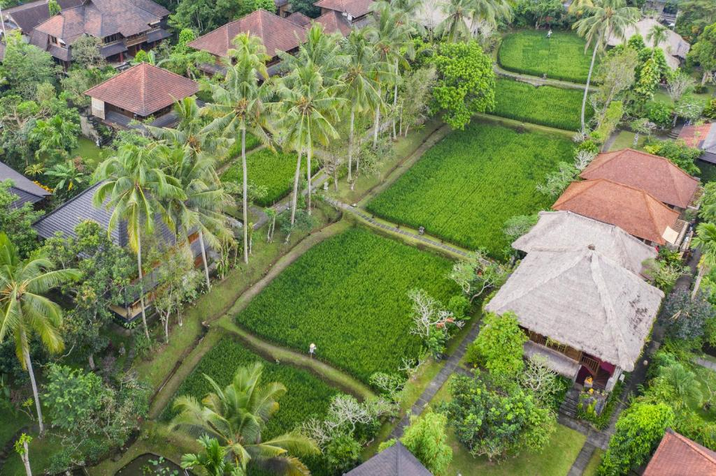 A bird's-eye view of Ananda Ubud Resort