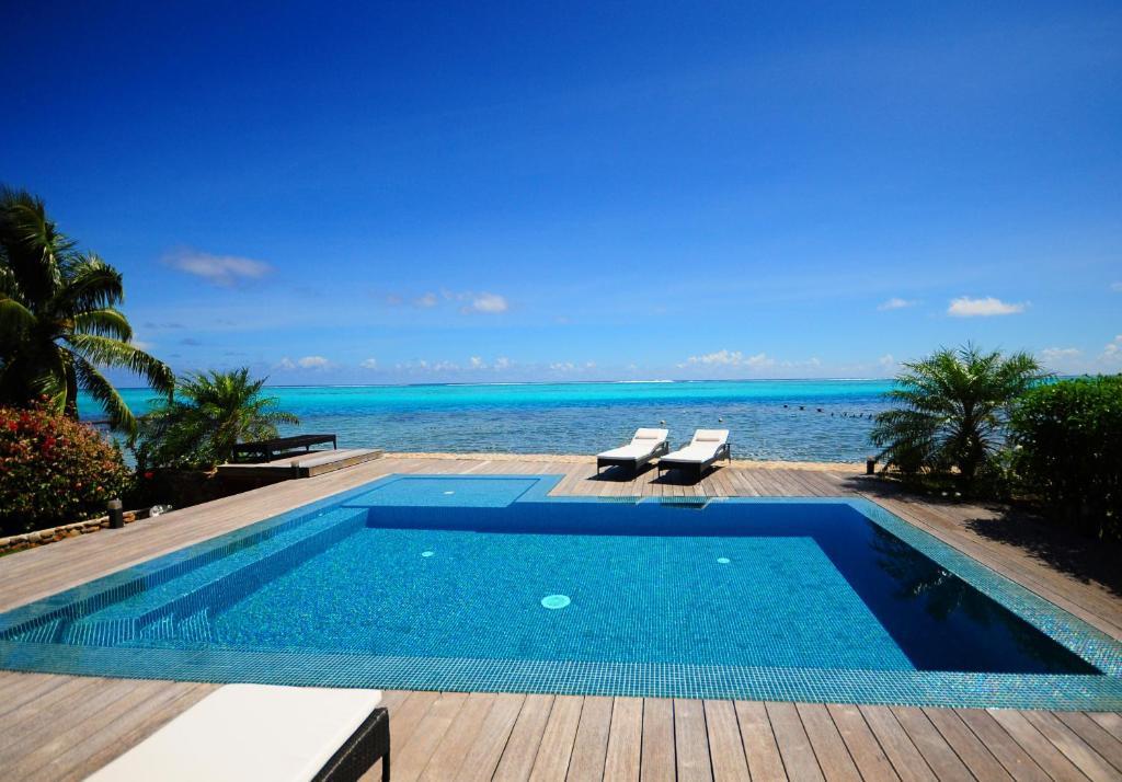 A piscina localizada em #10 Pool Villa Bliss by TAHITI VILLAS ou nos arredores
