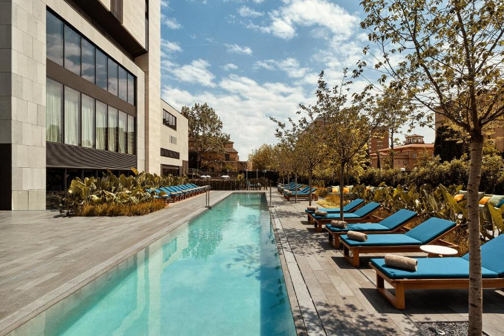 The swimming pool at or near Hotel SOFIA Barcelona, in The Unbound Collection by Hyatt