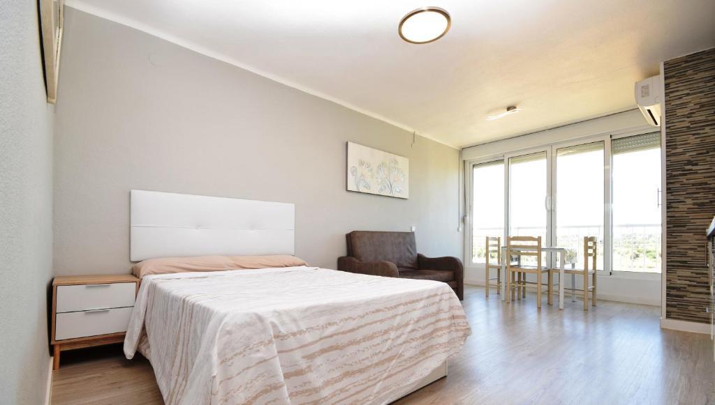 Cama o camas de una habitación en Ancora Studio