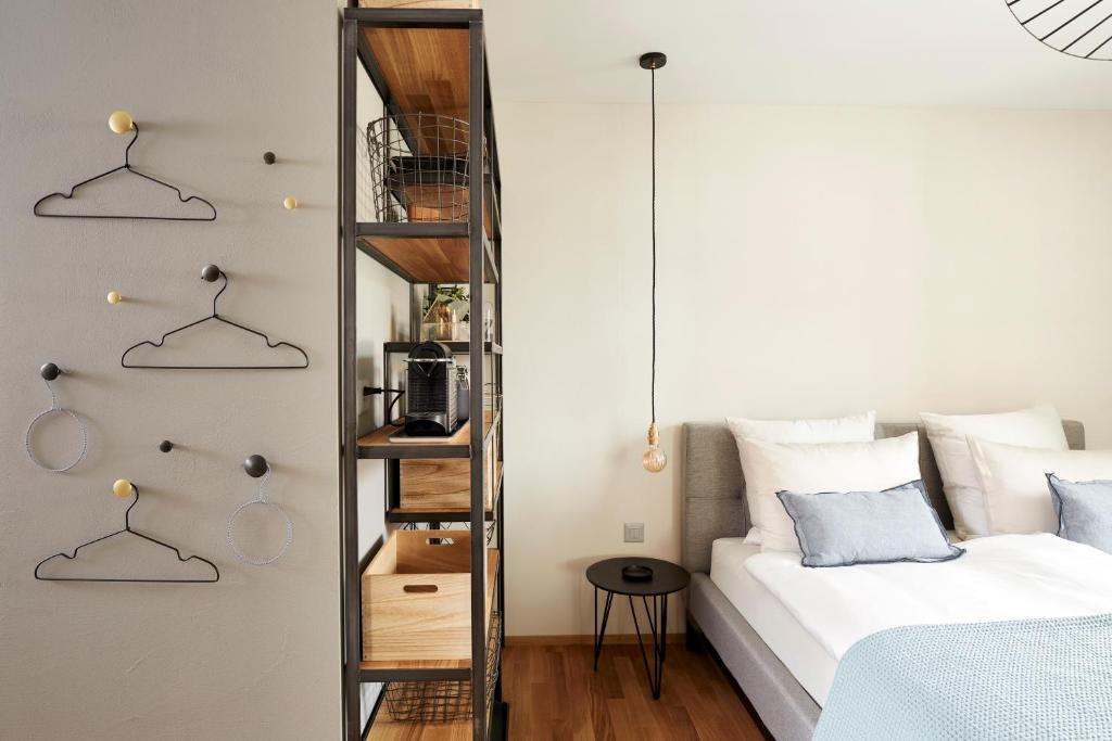 Ein Bett oder Betten in einem Zimmer der Unterkunft Zimmerei