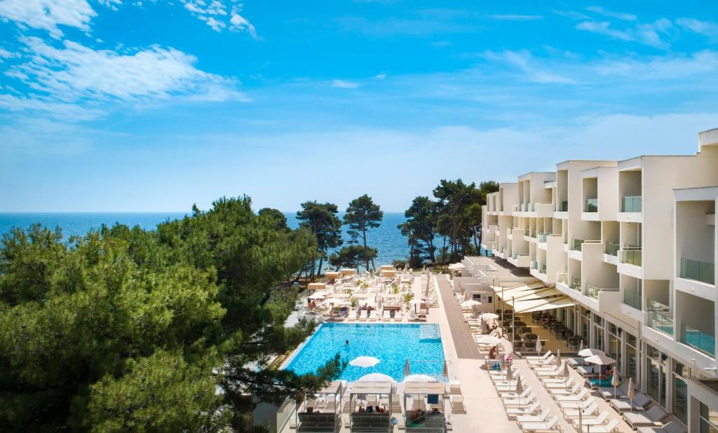 A view of the pool at Valamar Carolina Hotel & Villas or nearby