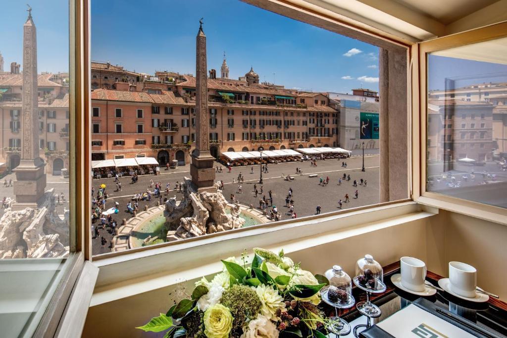 Eitch Borromini Palazzo Pamphilj Rome, Italy