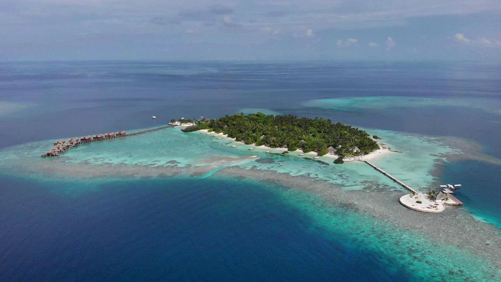 Nika Island Resort & Spa, Maldives с высоты птичьего полета