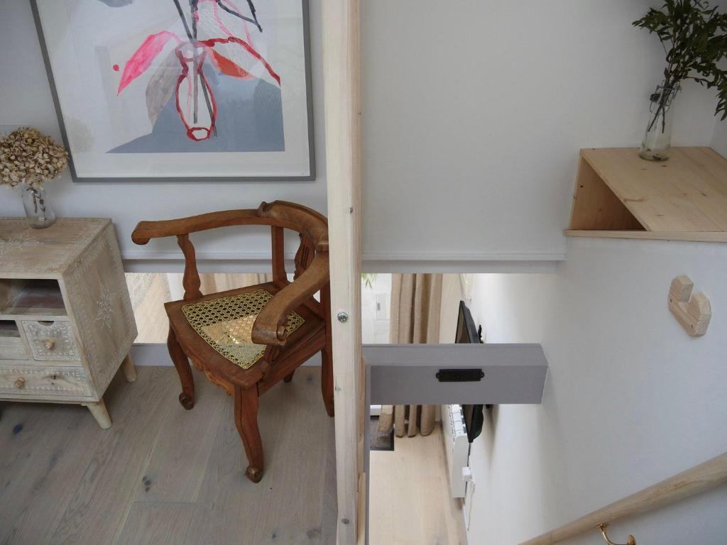 A seating area at Primrose House St. Ives