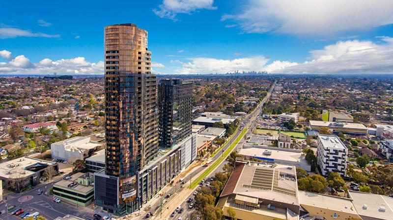 A bird's-eye view of Whitehourse Towers-1BR-1BA-Amazing View-Boxhill